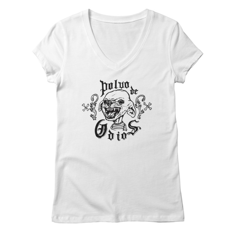 Odio Women's Regular V-Neck by monoestudio's Artist Shop