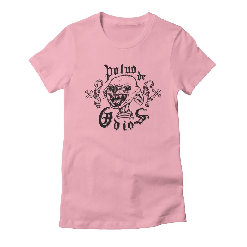 Odio Women's Fitted T-Shirt by monoestudio's Artist Shop
