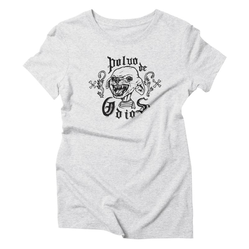 Odio Women's Triblend T-Shirt by monoestudio's Artist Shop