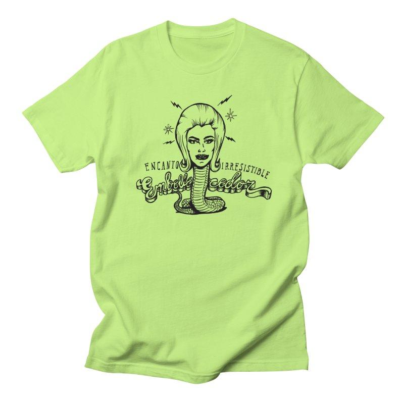 Embellecedor in Men's Regular T-Shirt Neon Green by monoestudio's Artist Shop