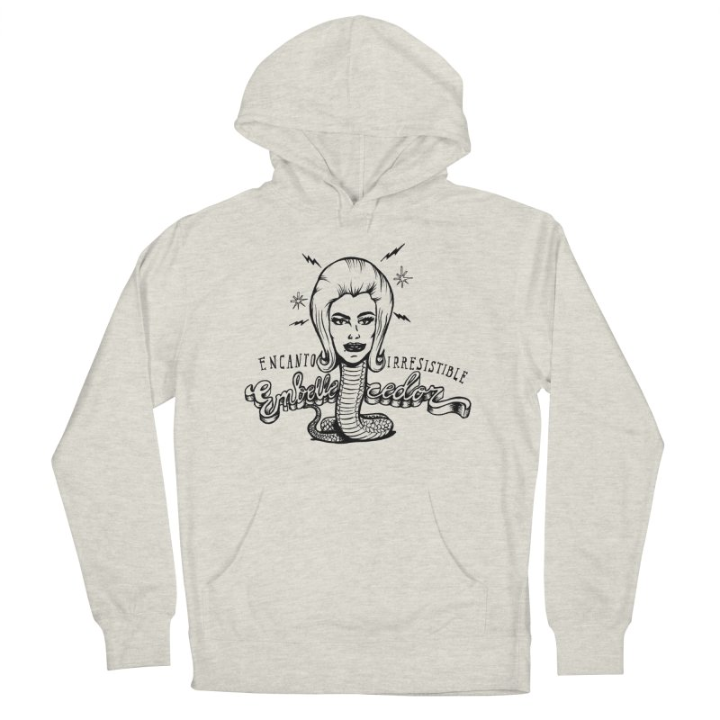 Embellecedor Women's French Terry Pullover Hoody by monoestudio's Artist Shop