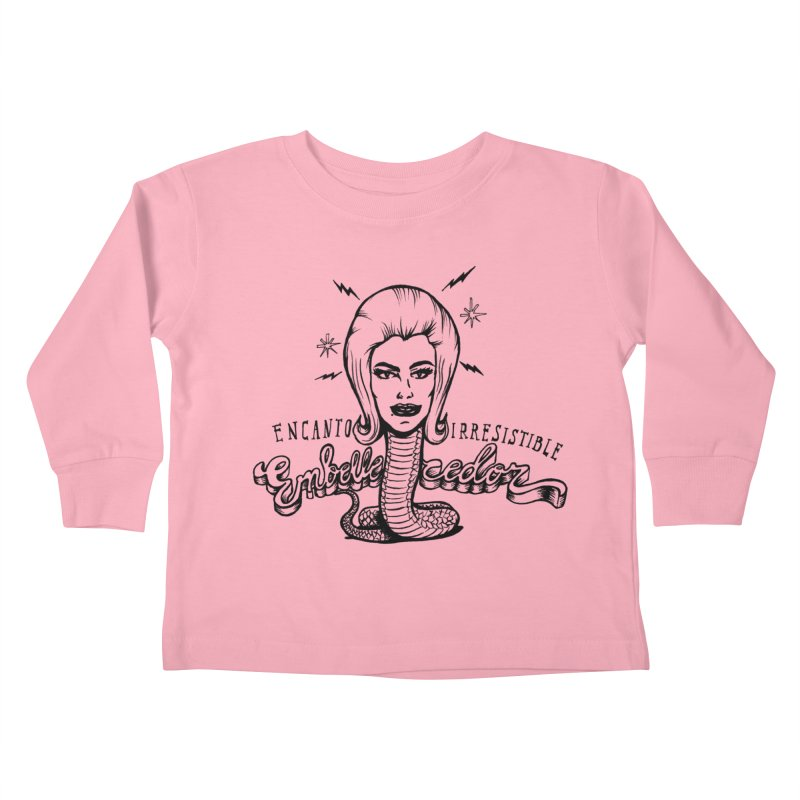 Embellecedor Kids Toddler Longsleeve T-Shirt by monoestudio's Artist Shop