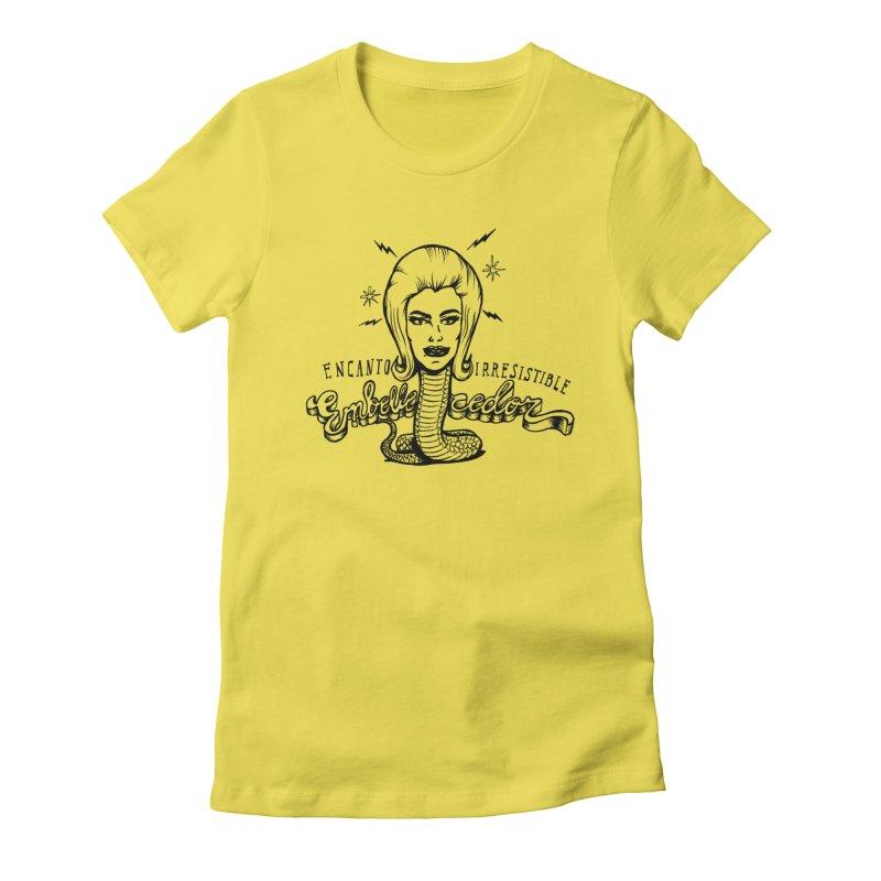 Embellecedor Women's T-Shirt by monoestudio's Artist Shop