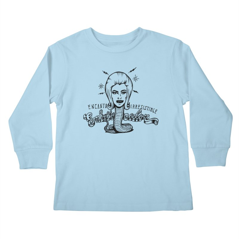 Embellecedor Kids Longsleeve T-Shirt by monoestudio's Artist Shop
