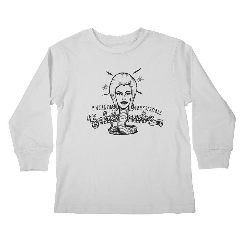 Embellecedor Kids Longsleeve T-Shirt by monoestudio's Artist Shop