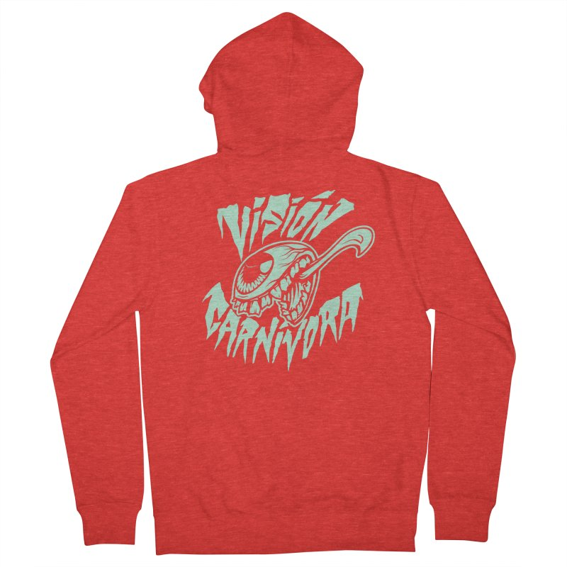 VC logo dark Men's Zip-Up Hoody by monoestudio's Artist Shop