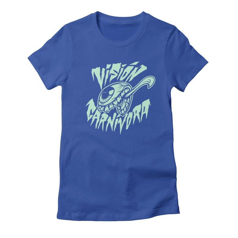 VC logo dark Women's Fitted T-Shirt by monoestudio's Artist Shop