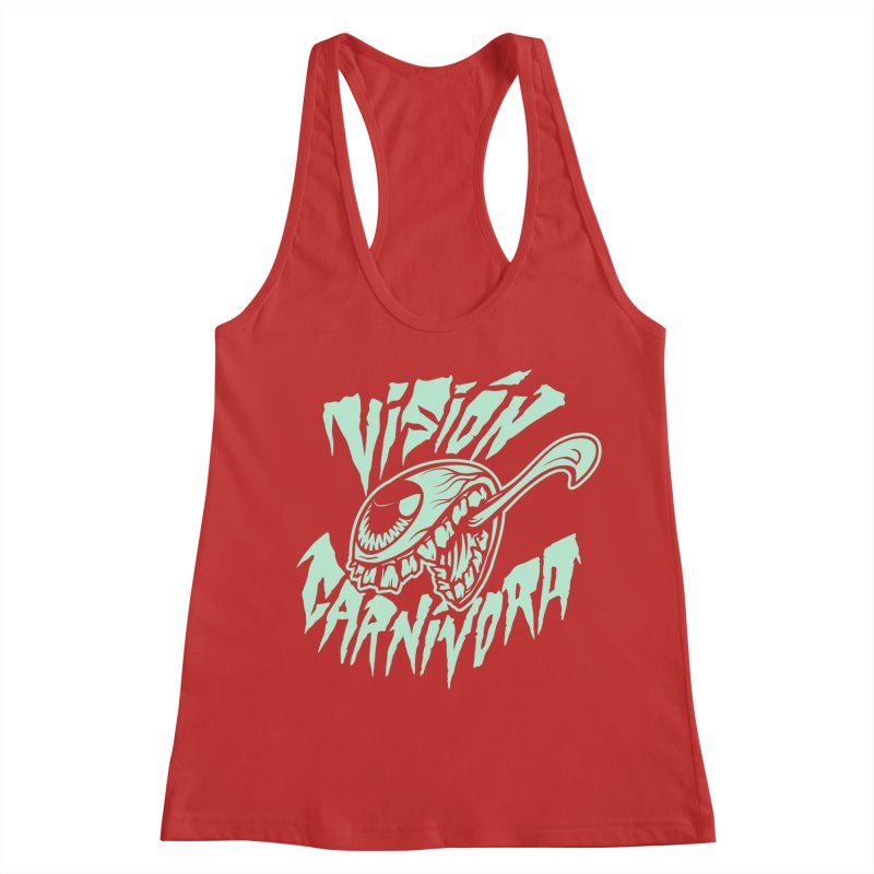 VC logo dark Women's Racerback Tank by monoestudio's Artist Shop