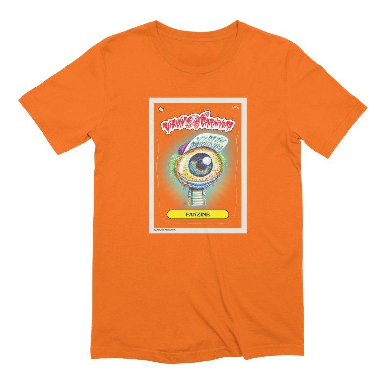 VCF in Men's Extra Soft T-Shirt Bright Orange by monoestudio's Artist Shop