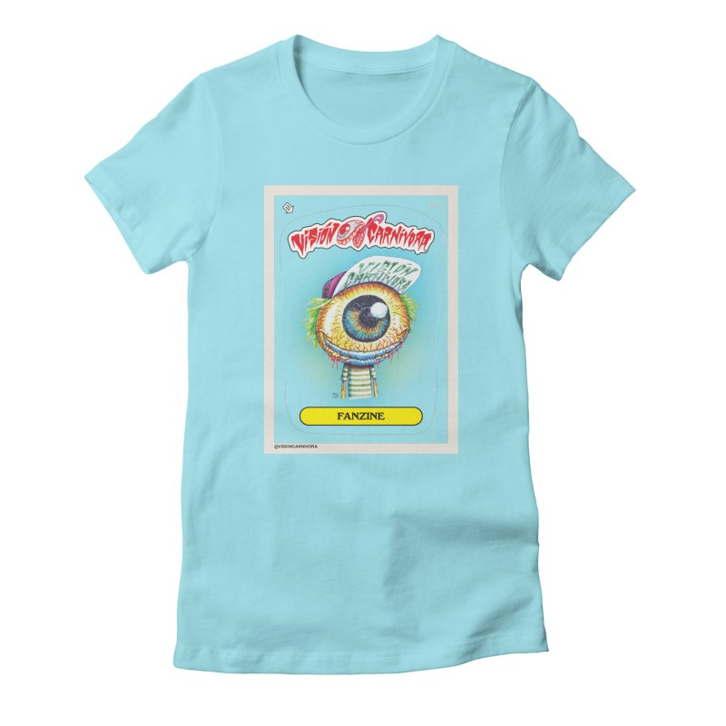 VCF Women's Fitted T-Shirt by monoestudio's Artist Shop