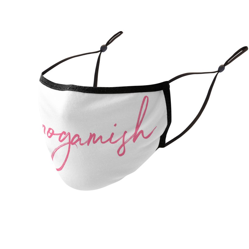 What's Our Name? Accessories Face Mask by Monogamish Pod