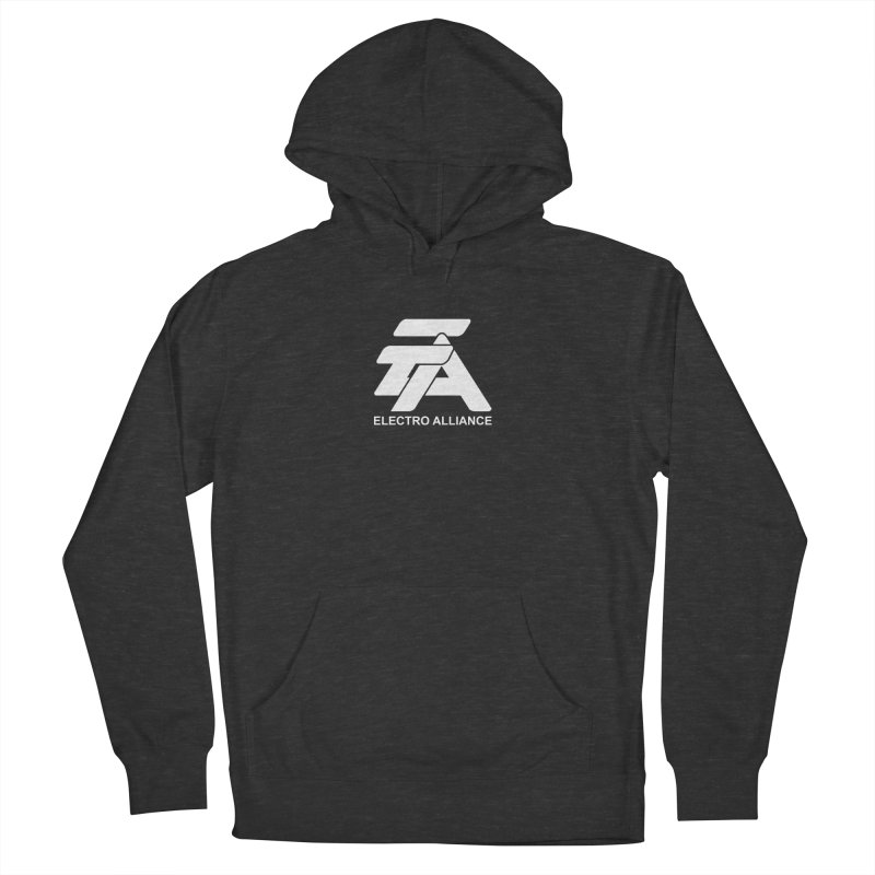 Electro Alliance Retro Men's French Terry Pullover Hoody by Monotone Apparel