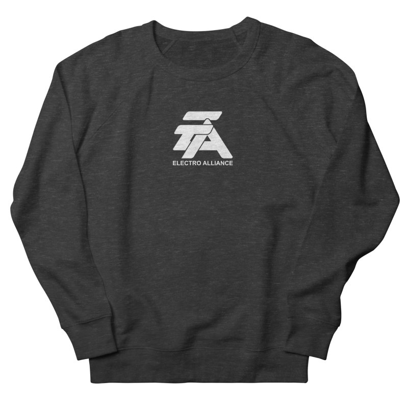Electro Alliance Retro Women's French Terry Sweatshirt by Monotone Apparel