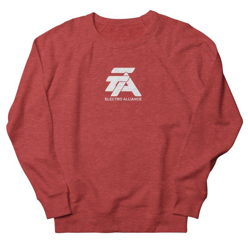 Electro Alliance Retro Women's French Terry Sweatshirt by Monotone Apparel