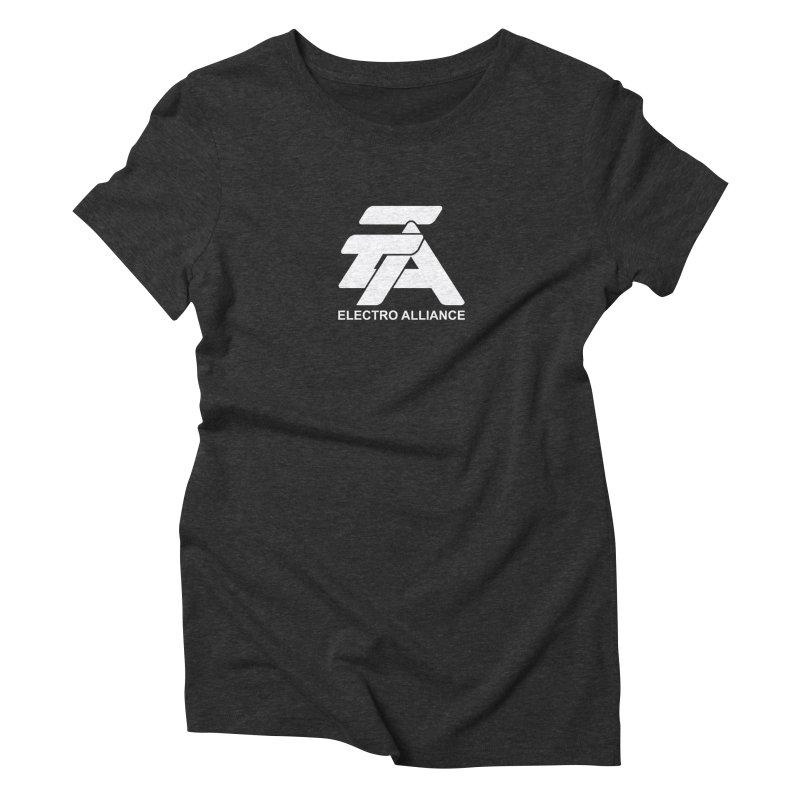 Electro Alliance Retro Women's Triblend T-Shirt by Monotone Apparel