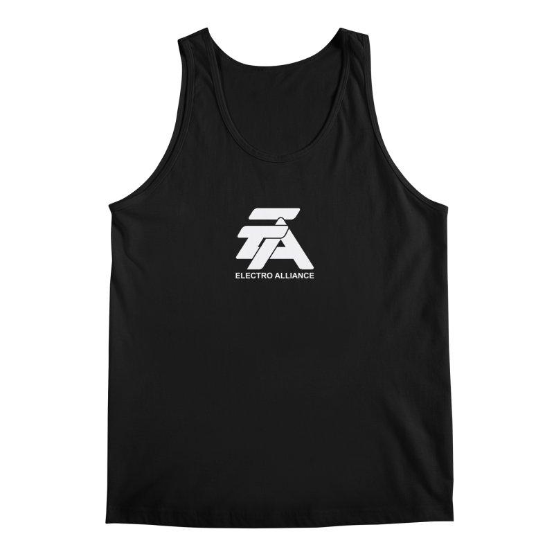 Electro Alliance Retro Men's Tank by Monotone Apparel