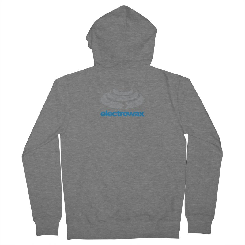 Electrowax Color Logo Women's French Terry Zip-Up Hoody by Monotone Apparel
