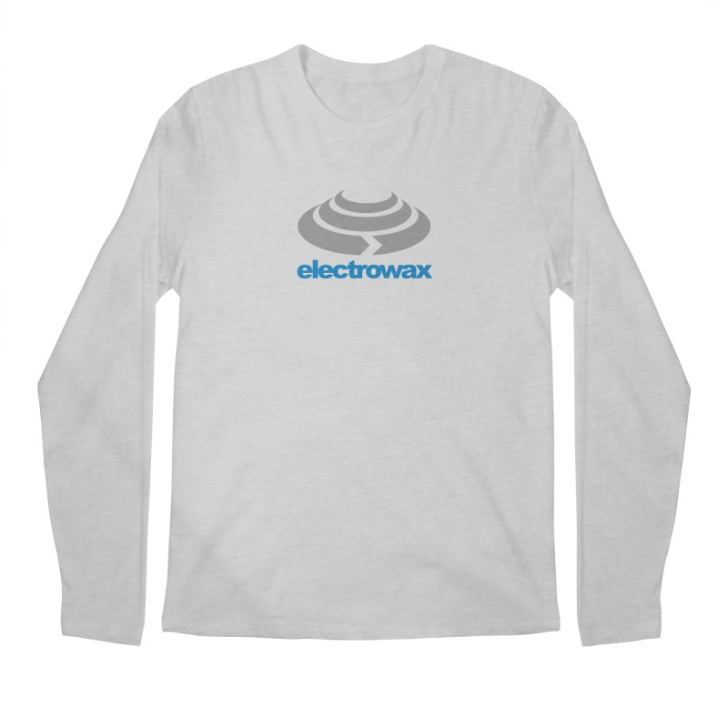 Electrowax Color Logo Men's Regular Longsleeve T-Shirt by Monotone Apparel