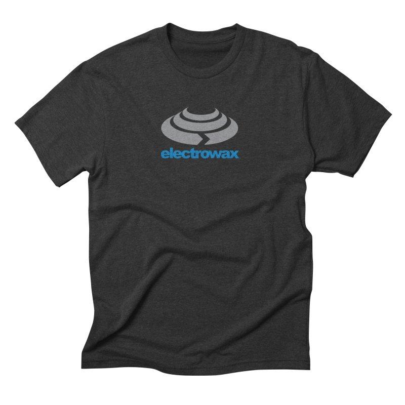 Electrowax Color Logo Men's Triblend T-Shirt by Monotone Apparel