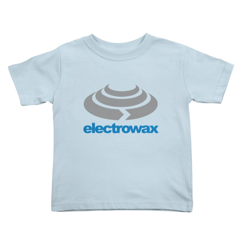 Electrowax Color Logo Kids Toddler T-Shirt by Monotone Apparel