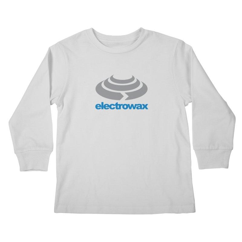 Electrowax Color Logo Kids Longsleeve T-Shirt by Monotone Apparel