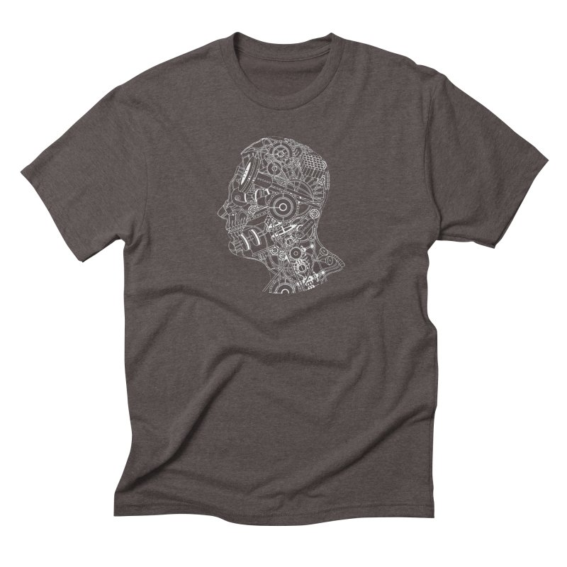 Futureshock Men's Triblend T-Shirt by Monotone Apparel