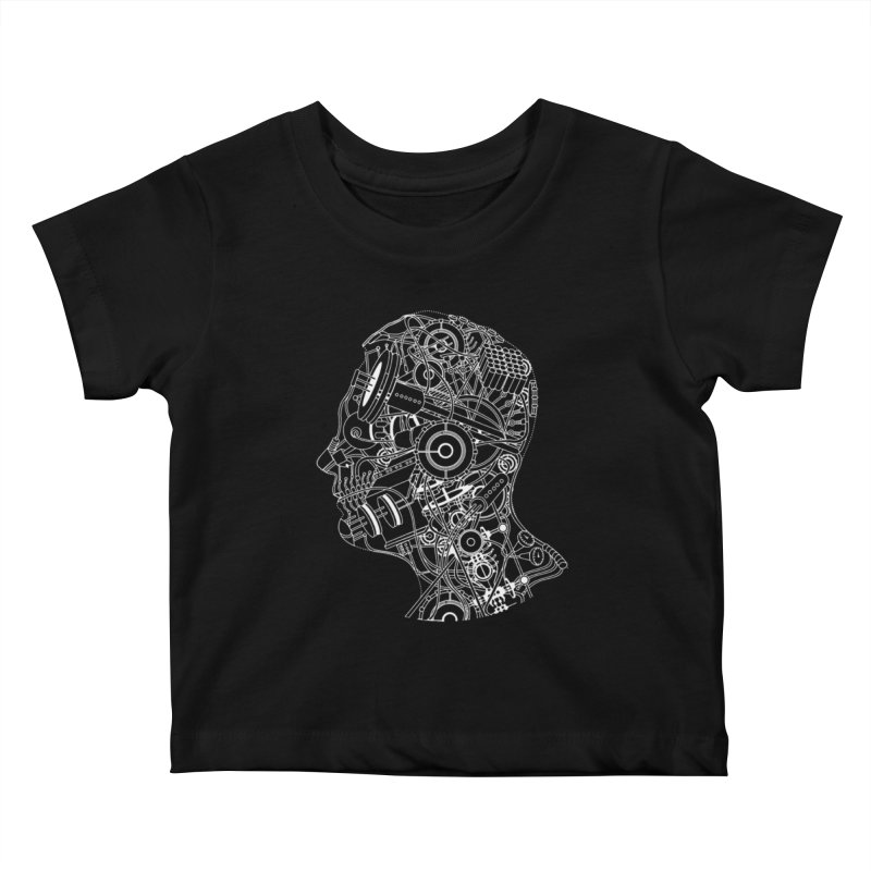 Futureshock Kids Baby T-Shirt by Monotone Apparel