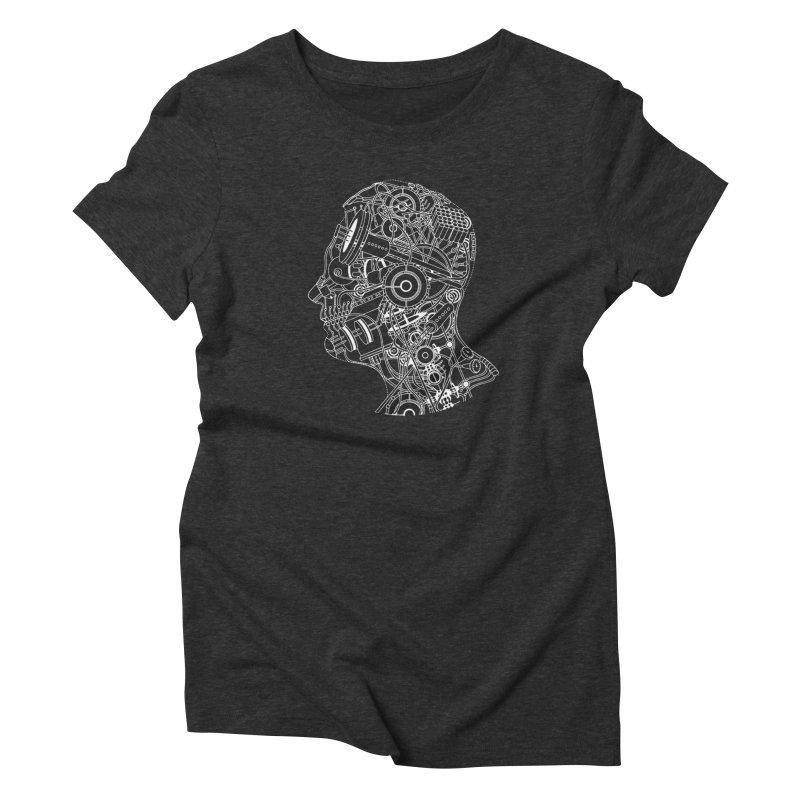Futureshock Women's Triblend T-Shirt by Monotone Apparel