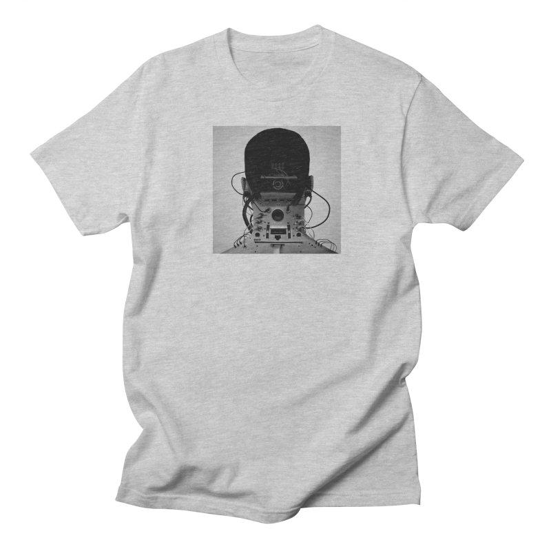 Speaker Breaka in Men's T-Shirt Heather Grey by Monotone Apparel