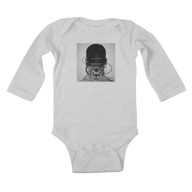 Speaker Breaka Kids Baby Longsleeve Bodysuit by Monotone Apparel
