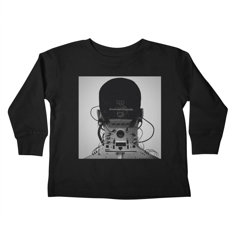 Speaker Breaka Kids Toddler Longsleeve T-Shirt by Monotone Apparel