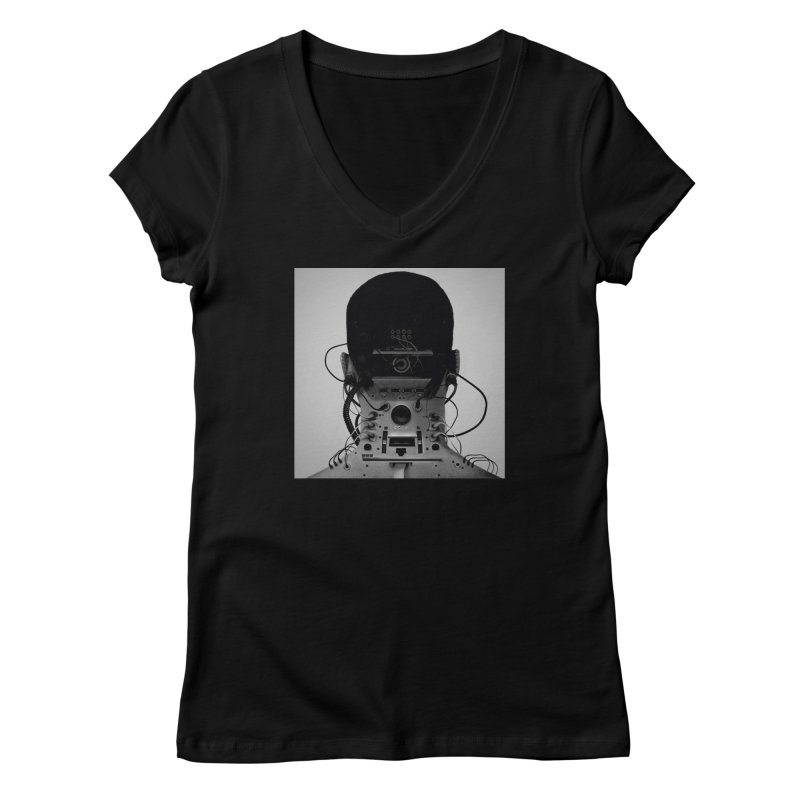 Speaker Breaka Women's V-Neck by Monotone Apparel