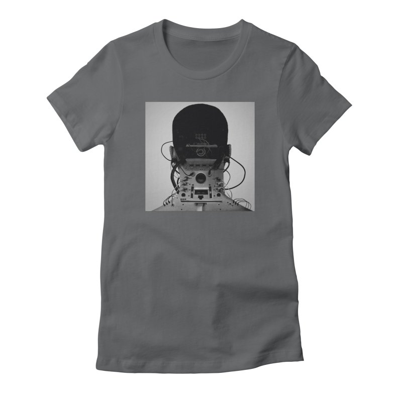 Speaker Breaka Women's Fitted T-Shirt by Monotone Apparel