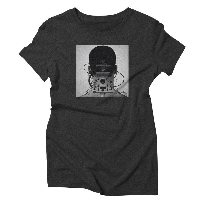 Speaker Breaka Women's Triblend T-Shirt by Monotone Apparel