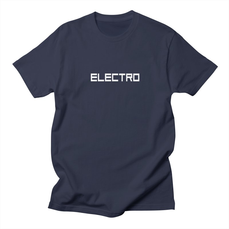 ELECTRO Men's T-Shirt by Monotone Apparel
