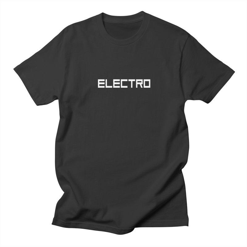 ELECTRO Men's T-Shirt by Monotone Apparel