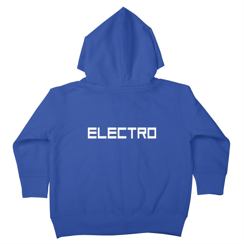 ELECTRO Kids Toddler Zip-Up Hoody by Monotone Apparel