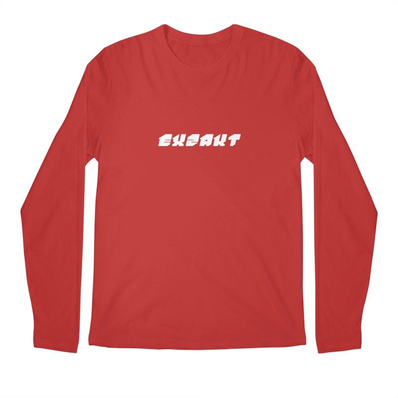 Exzakt Logo - Blade Men's Longsleeve T-Shirt by Monotone Apparel
