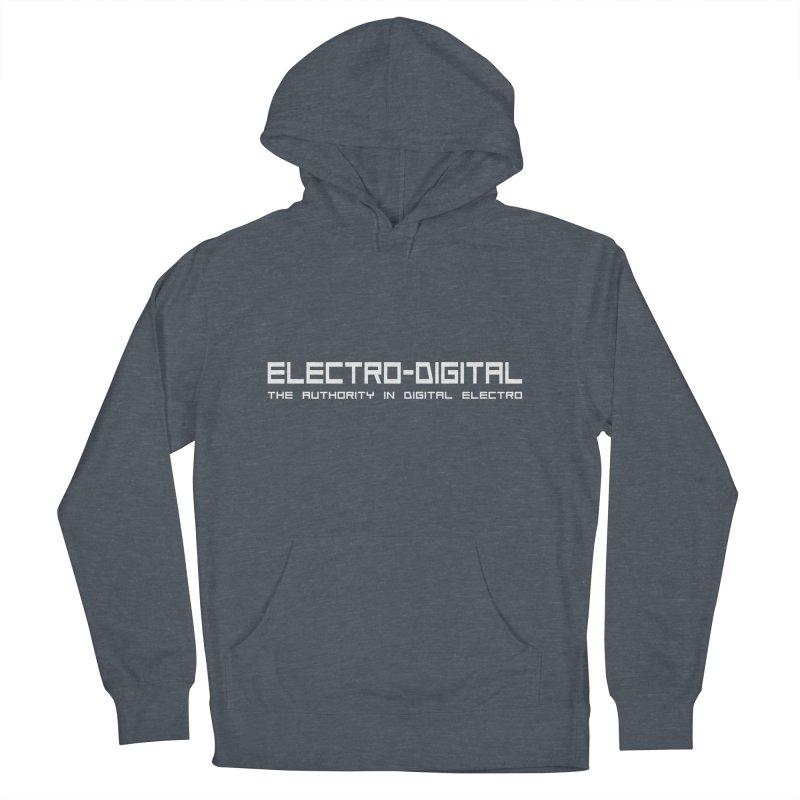 Electro-Digital Retro Women's Pullover Hoody by Monotone Apparel