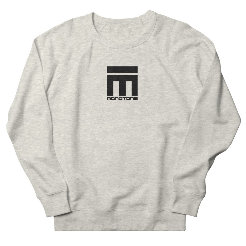 Monotone Logo  Women's French Terry Sweatshirt by Monotone Apparel