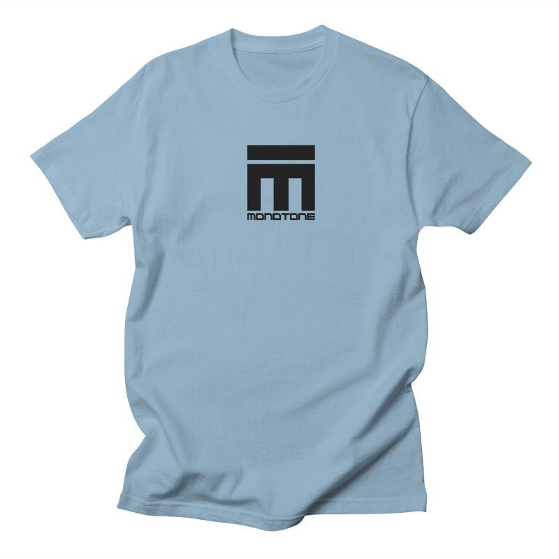 Monotone Logo  Men's T-Shirt by Monotone Apparel