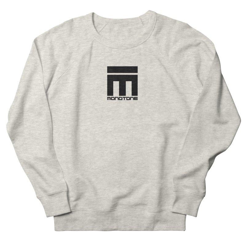 Monotone Logo  Women's French Terry Sweatshirt by Monotone Apparel