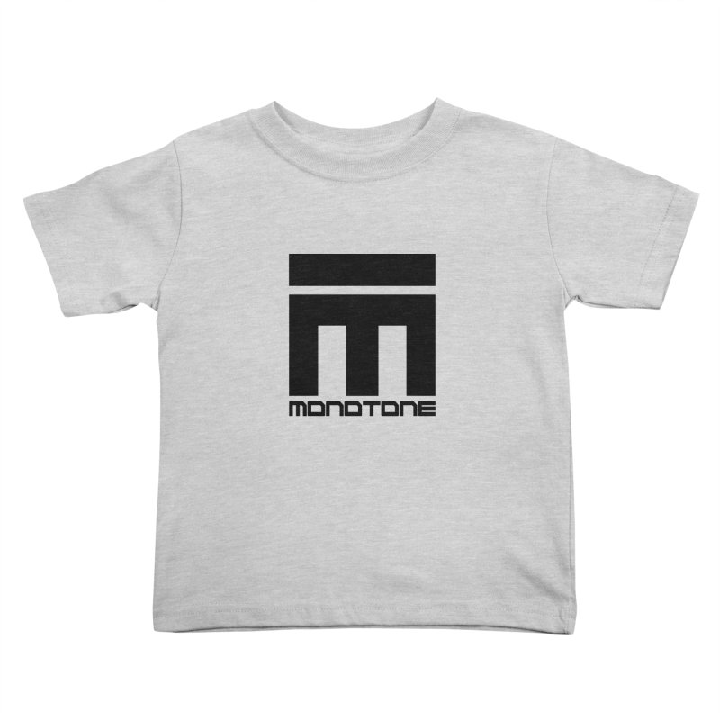 Monotone Logo  Kids Toddler T-Shirt by Monotone Apparel