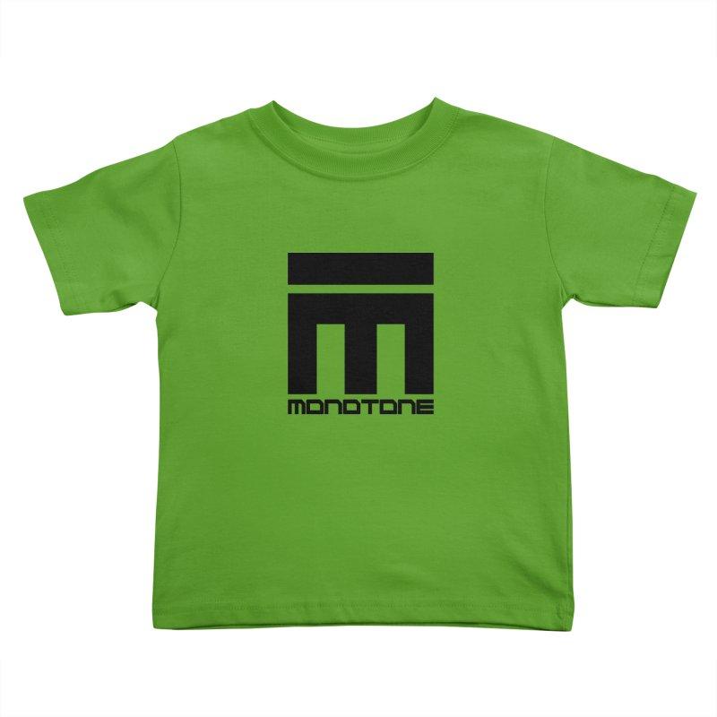 Monotone Logo  Kids Toddler T-Shirt by Monotone Apparel