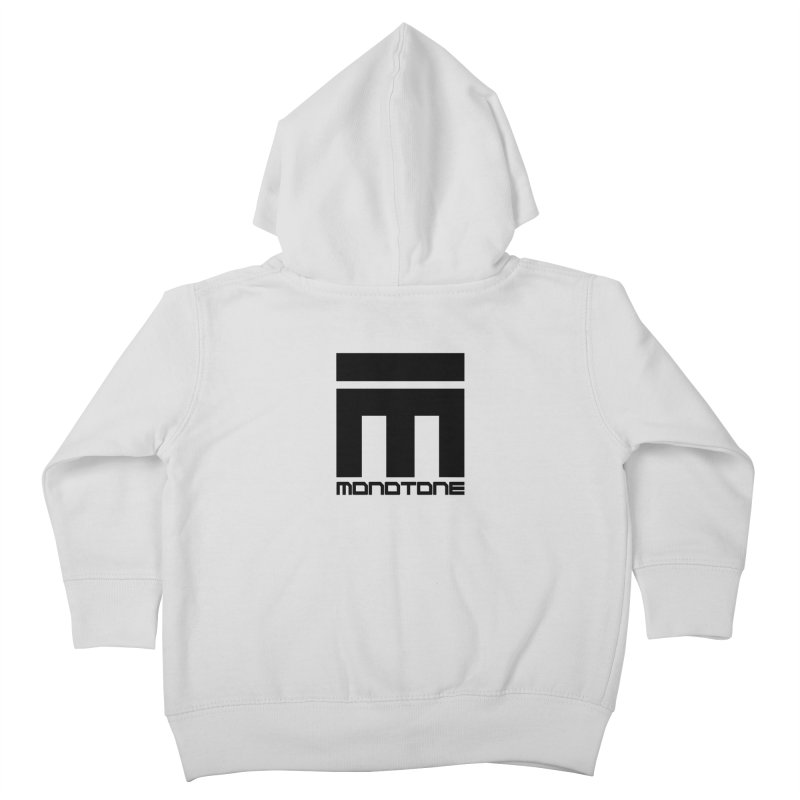 Monotone Logo  Kids Toddler Zip-Up Hoody by Monotone Apparel