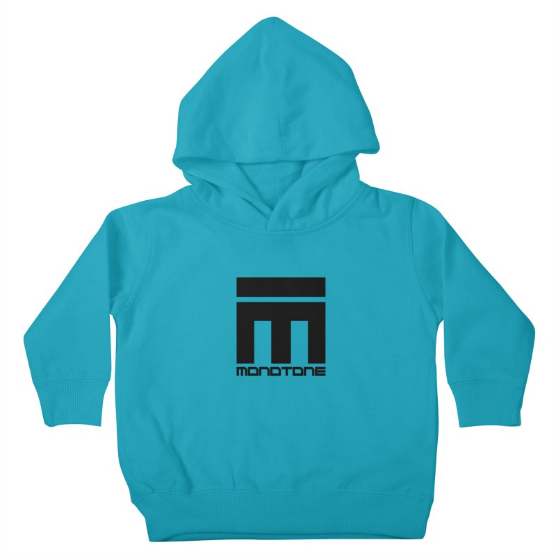 Monotone Logo  Kids Toddler Pullover Hoody by Monotone Apparel
