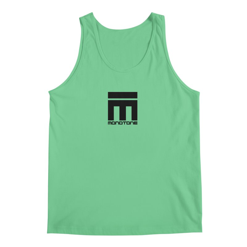 Monotone Logo  Men's Tank by Monotone Apparel