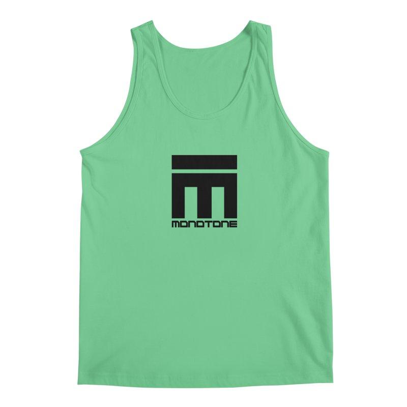 Monotone Logo  Men's Regular Tank by Monotone Apparel