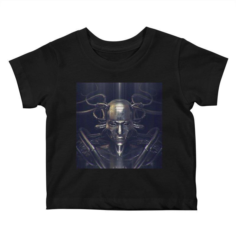 Monotrpolis Kids Baby T-Shirt by Monotone Apparel