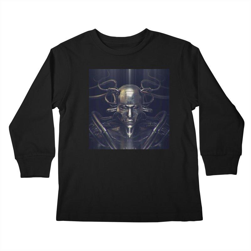 Monotrpolis Kids Longsleeve T-Shirt by Monotone Apparel
